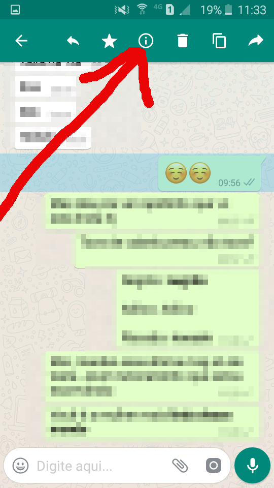 Recurso oculto do whatsapp