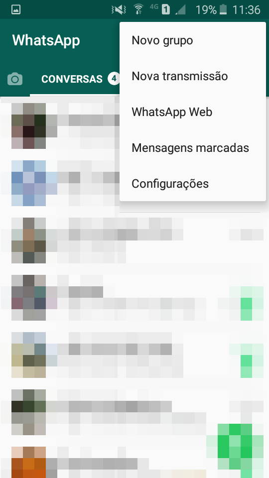 Usando o Whatsapp no desktop