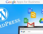 Google apps + WordPress