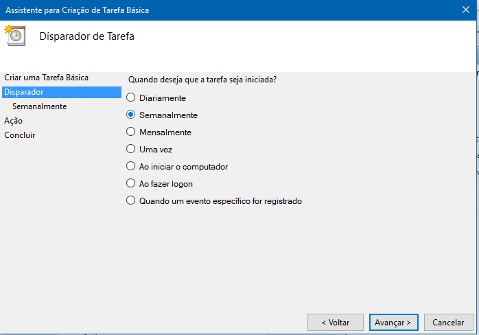 Como usar o Agendador de Tarefas do Windows