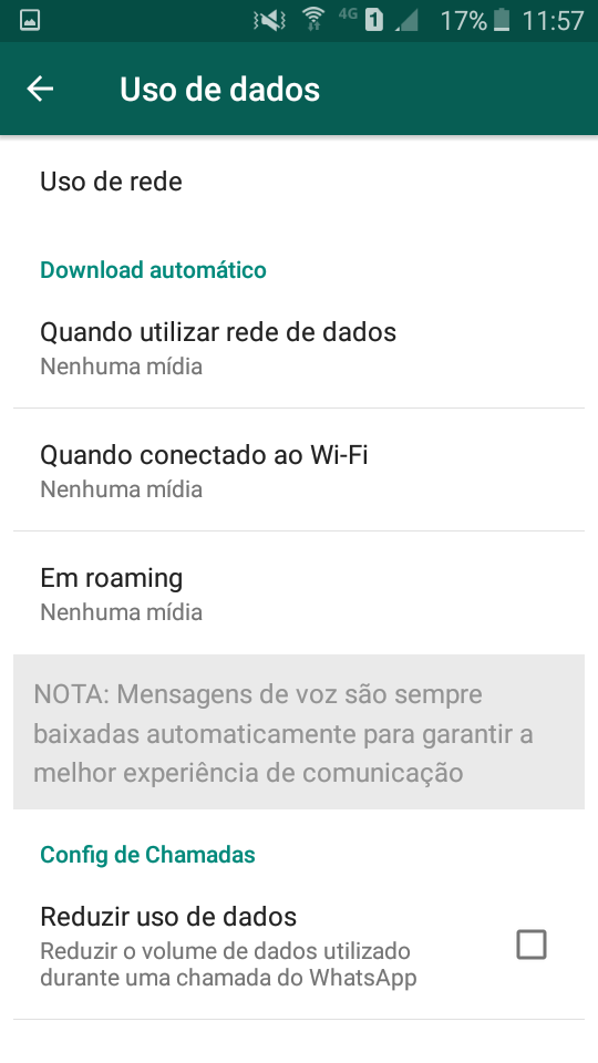 Download automático whatsapp