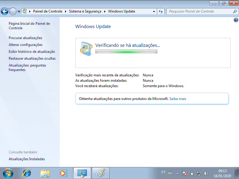 Atualizando o Windows 7 para o Windows 10