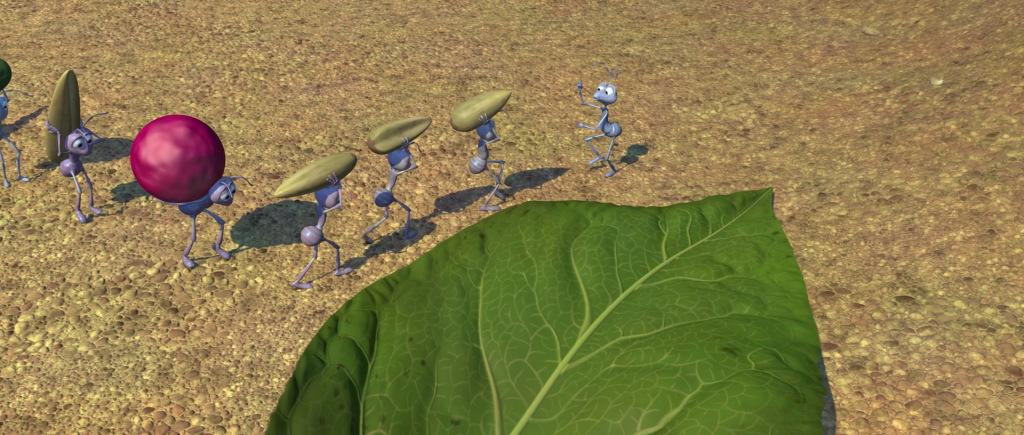 Desenho animado: Vida de inseto