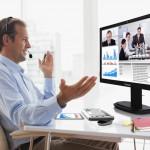 Vídeo conferência para reuniões