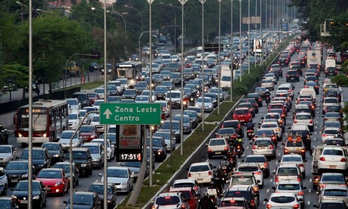 Trânsito em São Paulo