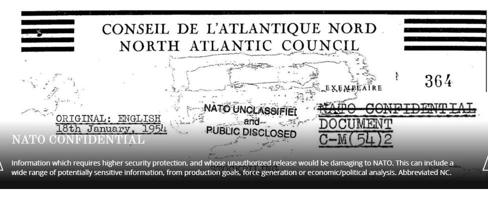 NATO-Confidential